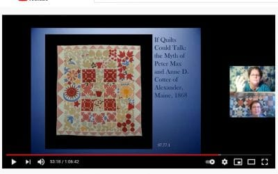 Miss the Quilt Book Launch, or Want to See it Again? You're in Luck!